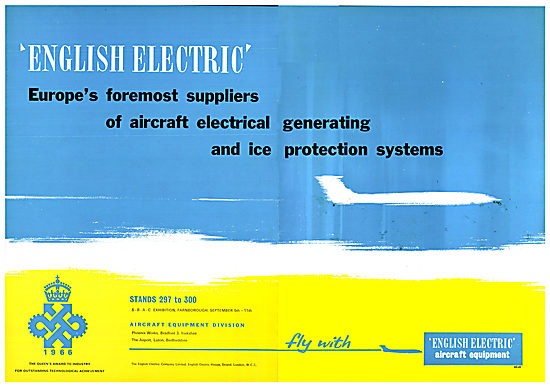 English Electric Aircraft Electrical & Ice Protection Systems