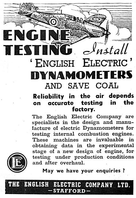 English Electric Company Dynamoteres