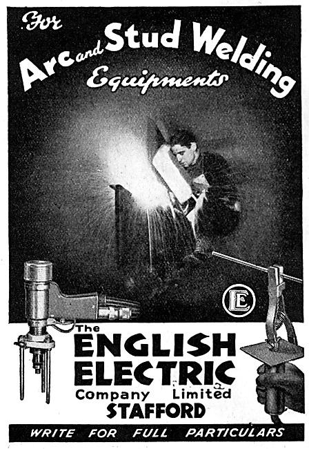 English Electric Arc & Stud Welding Equipment
