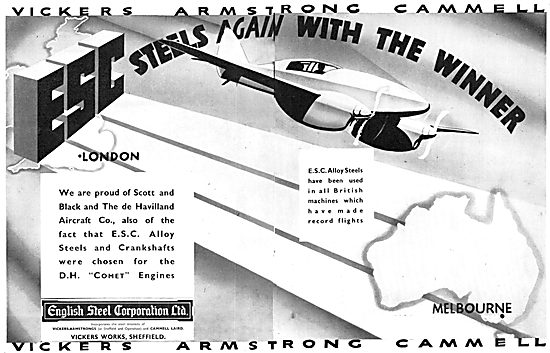 English Steel. ESC Alloy Steels 1934