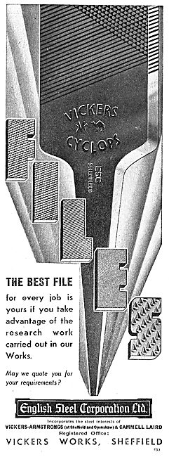English Steel Workshop Files & Drills