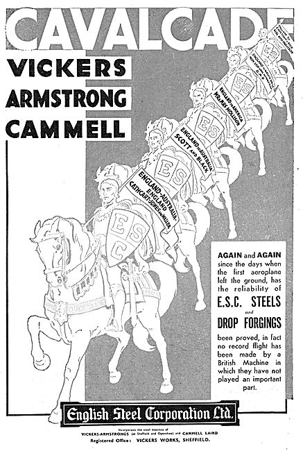 English Steel - ESC Steels & Drop Forgings: Vickers Cammell