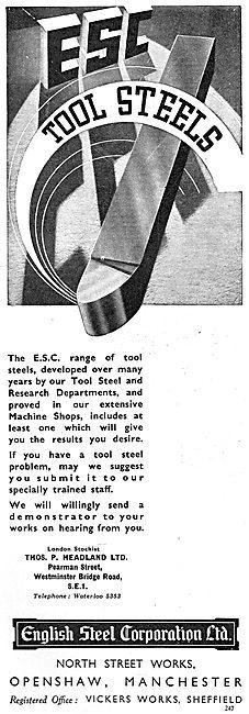 English Steel - Machine Tool Steels