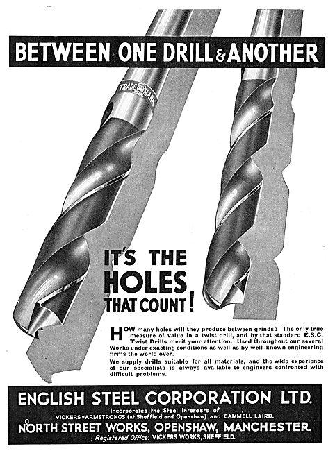 English Steel - Twist Drills