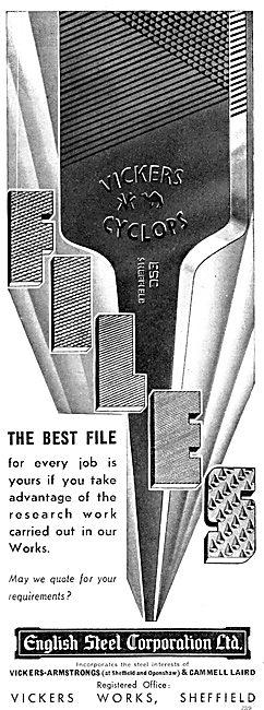 English Steel - ESC Engineers' Files