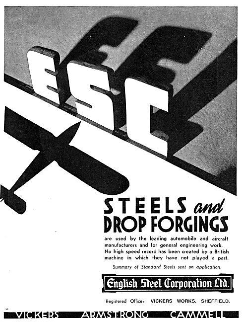 English Steel - Steels & Drop Forgings