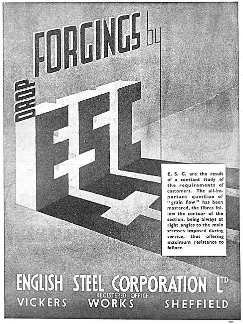 English Steel. ESC Drop Forgings