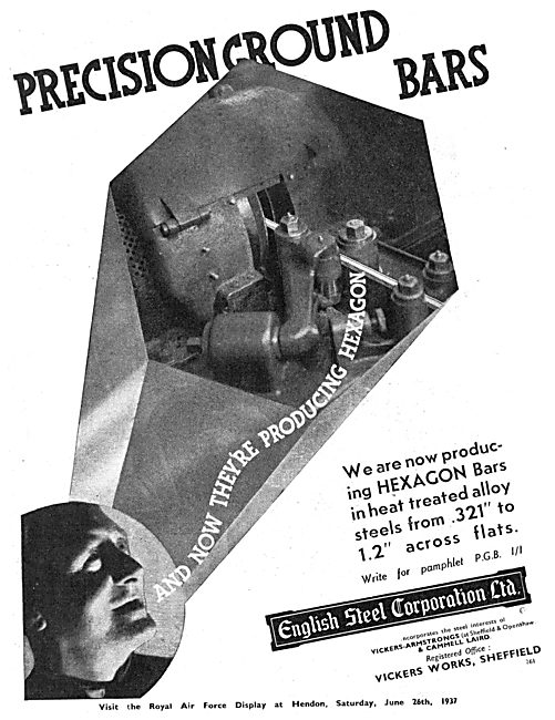 English Steel Corp: Precision Ground Bars