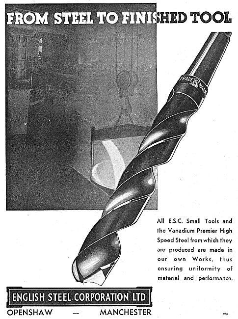 English Steel Corp:  Twist Drill Bits
