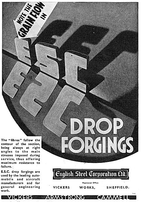 English Steel - ESC Drop Forgings