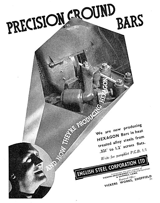 English Steel Hexagon Precision Heat Treated Steel Bars