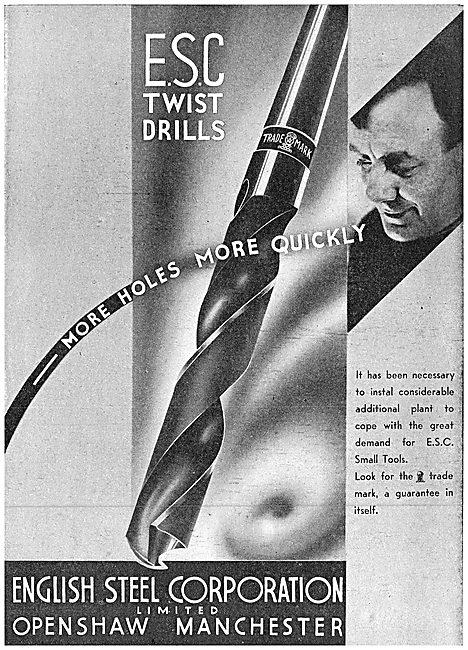 ESC - English Steel Corporation - Twist Drills
