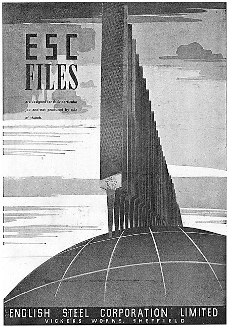 ESC - English Steel Corporation - Hand Files