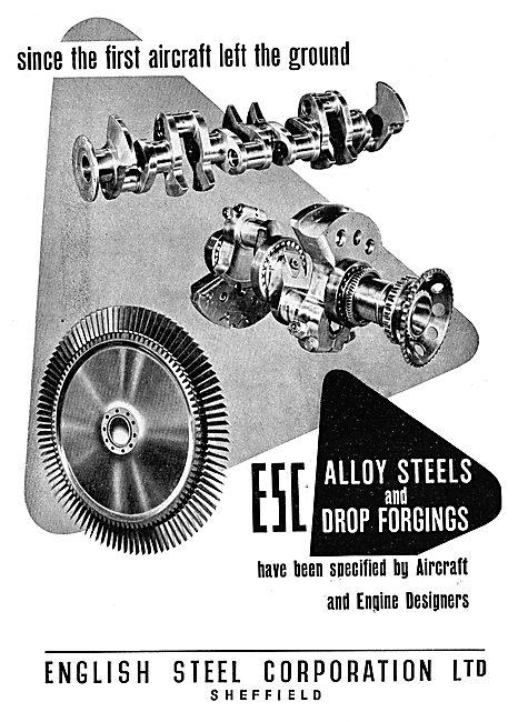 English Steel Alloy Steels & Drop Forgings
