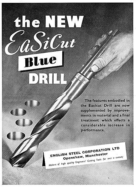English Steel ESC Twist Drills