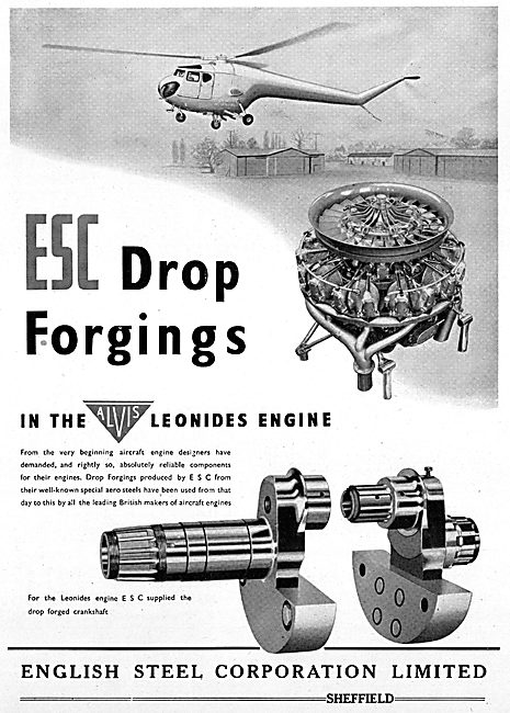 English Steel Drop Forgings