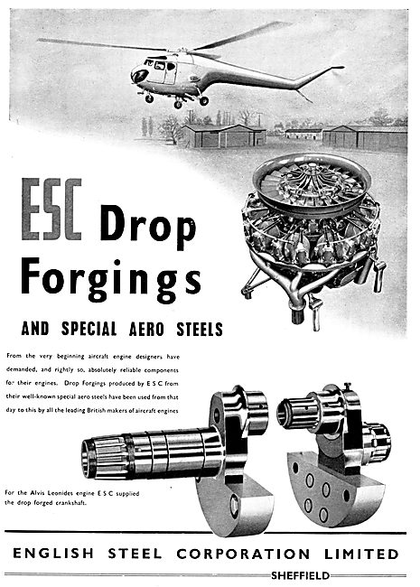 English Steel  ESC Drop Forgings