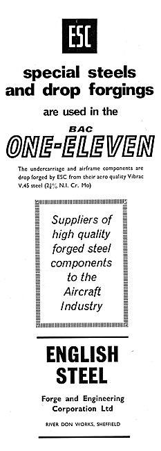 English Steel ESC Drop Forgings 1965