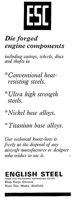E.S.C. English Steel Die Forged Components