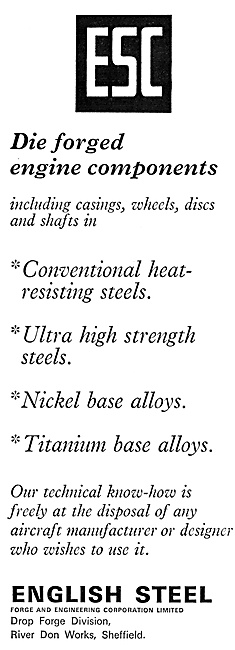 English Steel Die Forged Engine Components