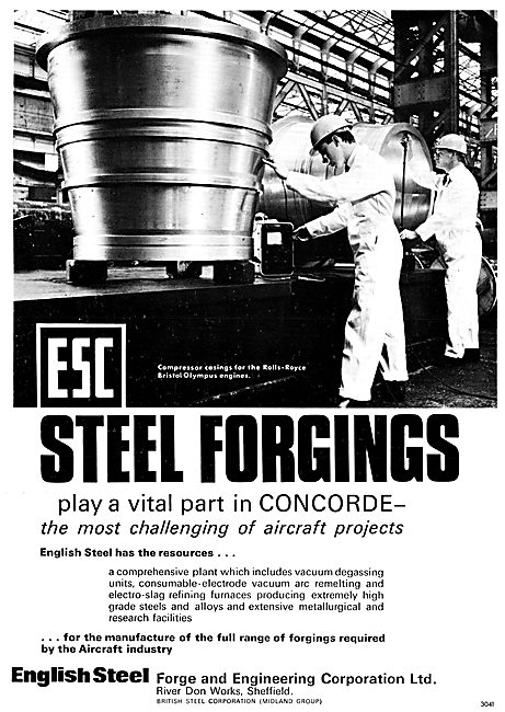 English Steel ESC Forgings