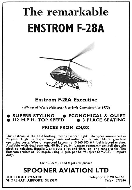 Enstrom F-28A Executive