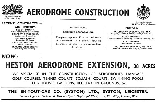 En-Tout-Cas Heston Aerodrome Extension