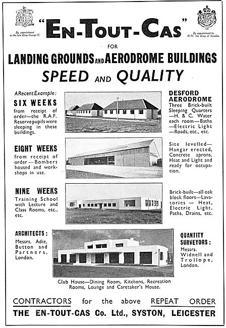 En-Tout-Cas Aerodromes & Hangars