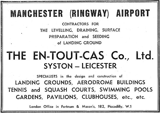 En-Tout-Cas Aerodromes & Hangars - Manchester Ringway