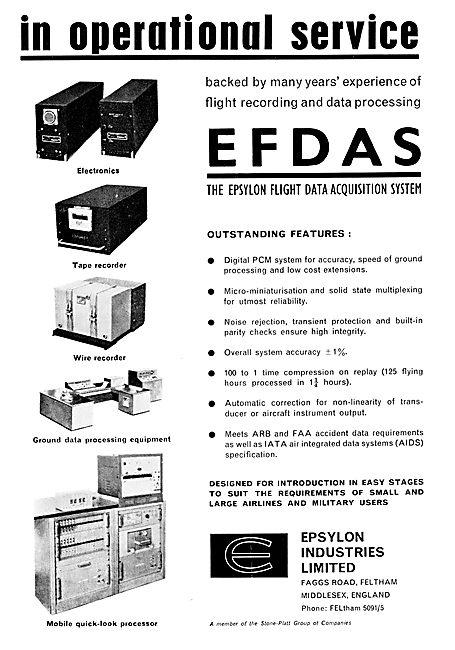 EFDAS - Epsylon Flight Data Recorders