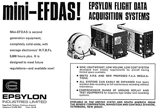 Epsylon Mini-EFDAS Flight Data Acquisition System