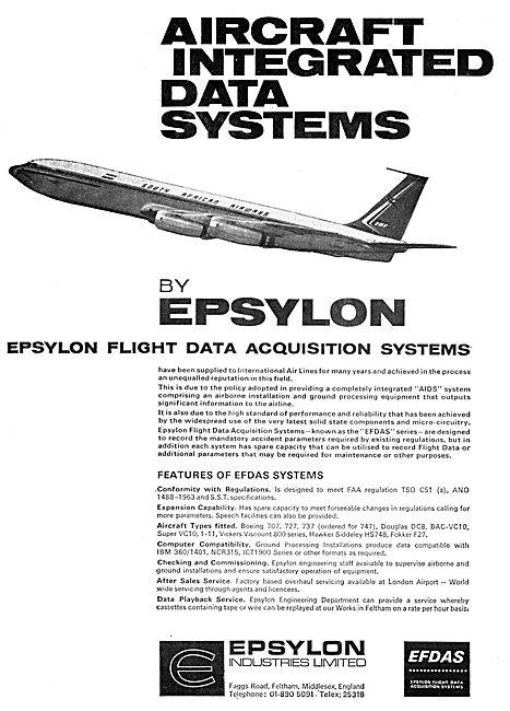 Epsylon Flight Data Acquisition Systems