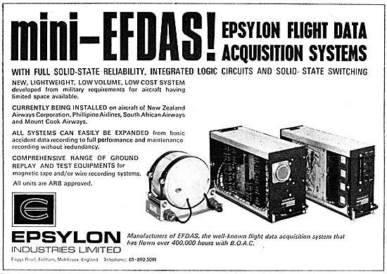Epsylon Flight Data Acquisition Systems - Mini EFDAS