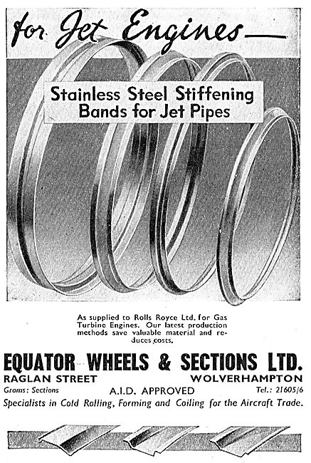 Equator Wheels & Sections - Stiffening Bands