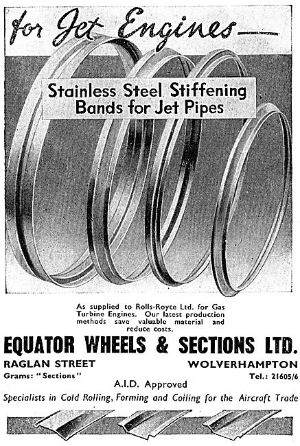 Equator Wheels & Sections - Stainless Steel Stiffening Bands