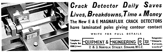 Equipment & Engineering Co -NDT. Magnaflux Crack Detection