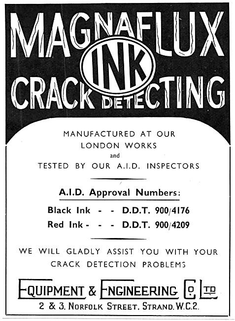 Equipment & Engineering Co - NDT Magnaflux Crack Detection