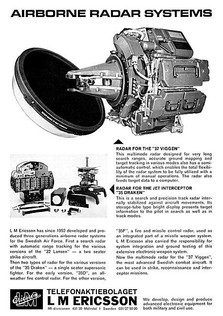 L.M.Ericsson Airborne Radar Systems
