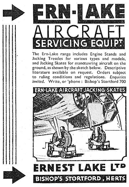 Ernest Lake: ERN-LAKE Aircraft Jacks & Trestles