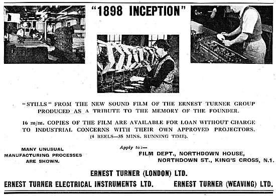 The Ernest Turner Group - Aircraft Components & Textiles