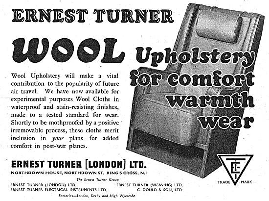 Ernest Turner Wool Upholstery