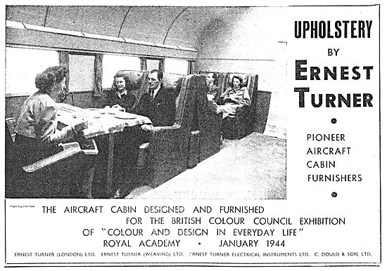 Ernest Turner Aircraft Cabin Upholstery