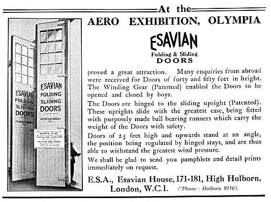 Esavian Hangar Doors 1929