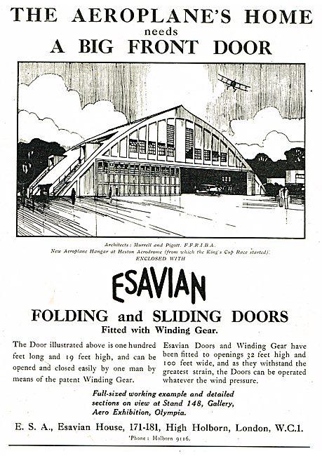The Aeroplane Home Needs A Big Fron Door! Fit Esavian