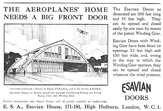 The Aeroplane's Home Needs A Big Front Door!