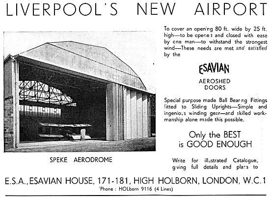 Esavian Hangar Doors 1933
