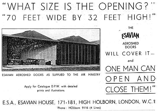 Esavian Hangar Doors Aeroshed Doors