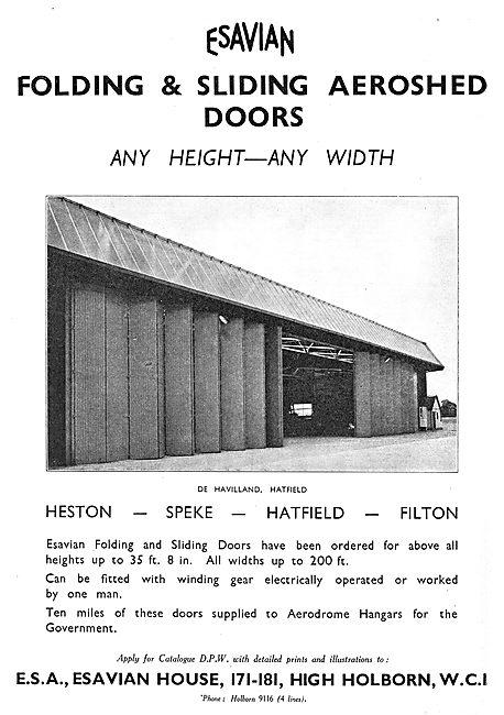 Esavian Folding & Sliding Doors For Hangars