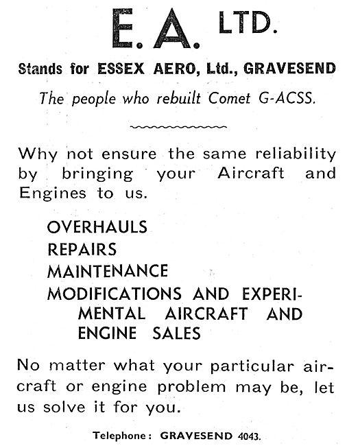 Essex Aero - Aircraft Engineering Services
