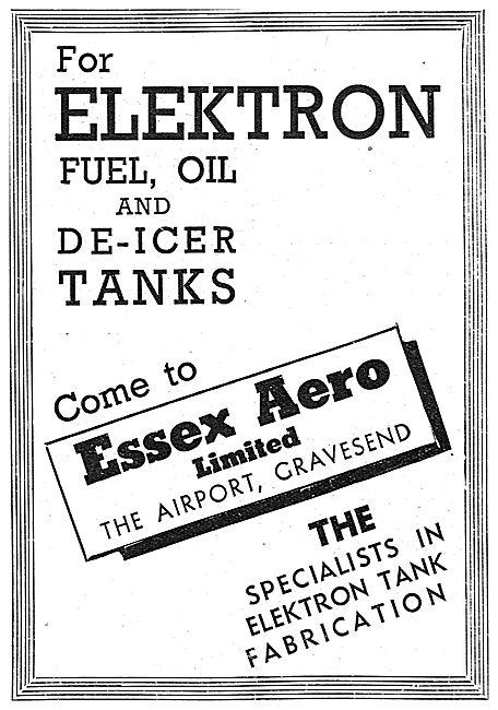 Essex Aero. Gravesend. Elektron Tank Fabrication